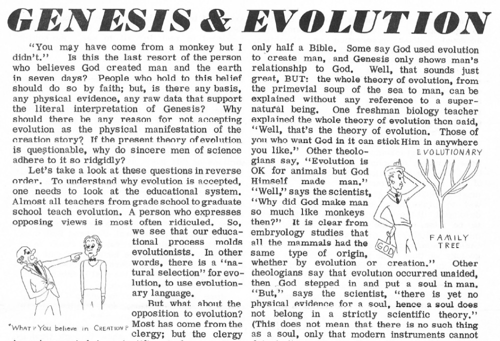 Genesis and Evolution Thumbnail